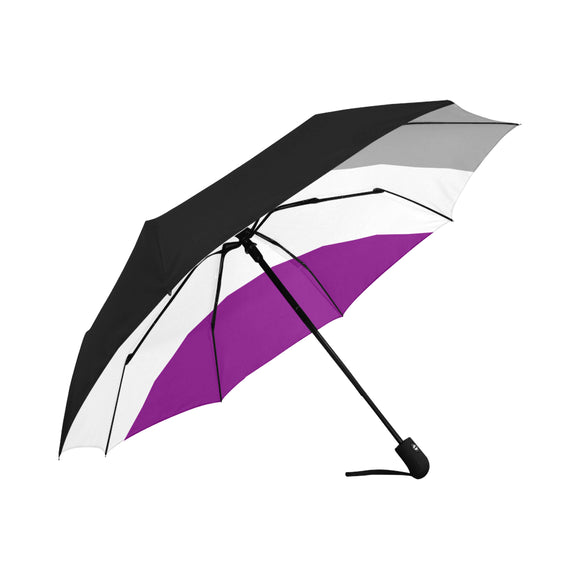 Asexual Pride Umbrella - Anti-UV Auto-Fold