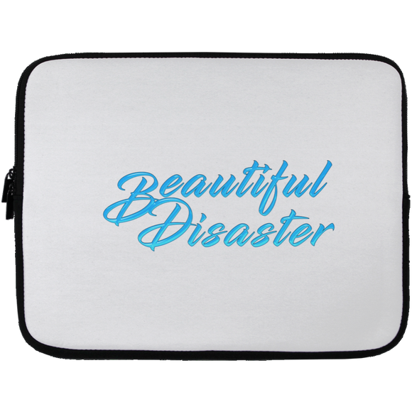 Beautiful Disaster Laptop Sleeves