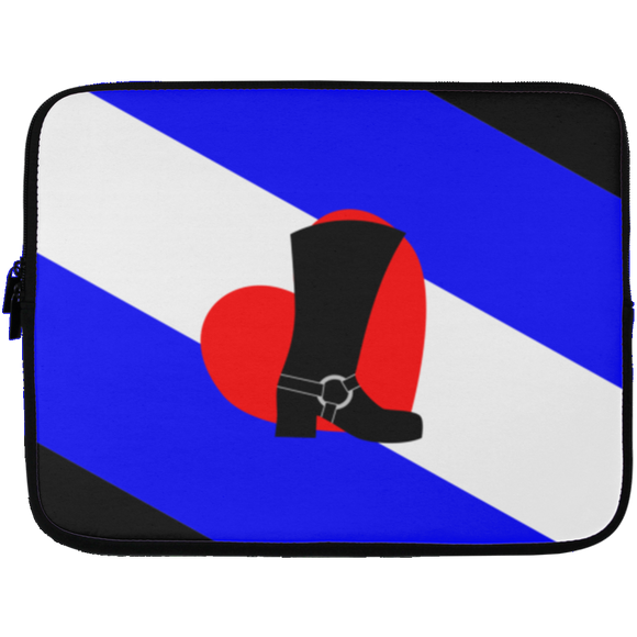 Bootblack Pride Laptop Sleeves