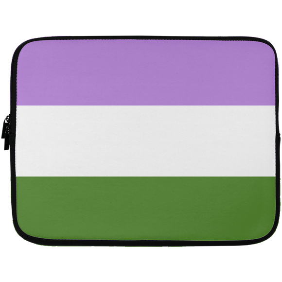 Genderqueer Pride Laptop Sleeves