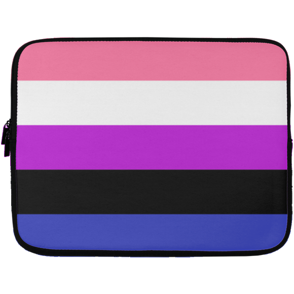 Gender Fluid Pride Laptop Sleeves