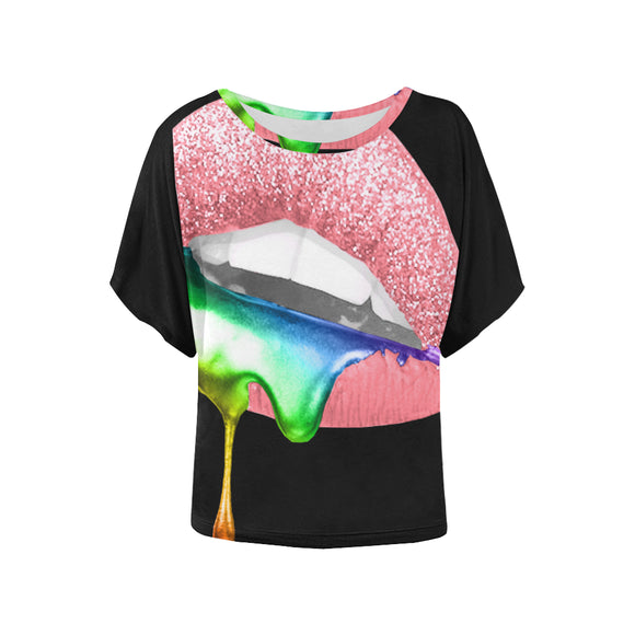 Sugar Lips  Shirt - Batwing Dolman
