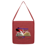 CJLC Red Ribbon Bags - Tote Classic Twill