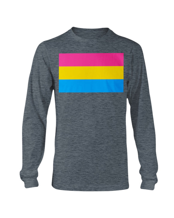Pansexual Pride  Shirt - LS Tee Classic (Unisex 2x-5x)