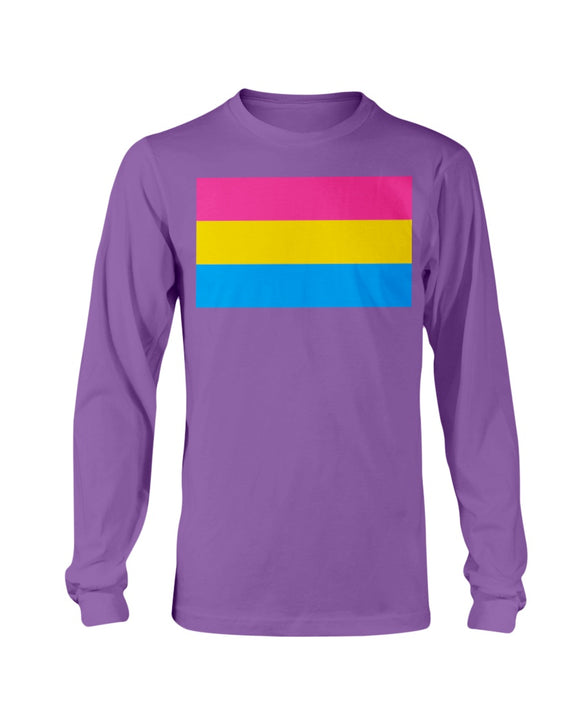 Pansexual Pride  Shirt - LS Tee Classic (Unisex S-1x)