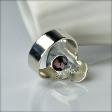 Load image into Gallery viewer, ONLY ONE Rhodochrosite Silver Statement Ring US Size 5 1/2