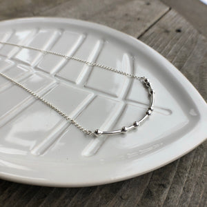 JE T'ADORE Morse Code Necklace