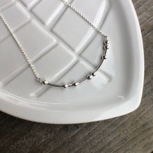 Load image into Gallery viewer, JE T'ADORE Morse Code Necklace