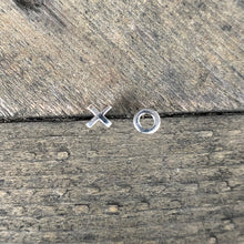 Load image into Gallery viewer, XO Silver Mismatched Earring Studs