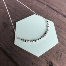 Load image into Gallery viewer, DAUGHTER Morse Code Pendant