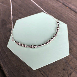 DAUGHTER Morse Code Pendant