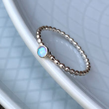 Load image into Gallery viewer, Blue Opal Ring