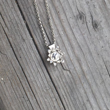 Load image into Gallery viewer, Petite Flower Blossom Pendant