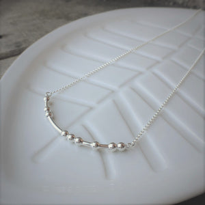 LOVED Morse Code Necklace