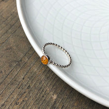Load image into Gallery viewer, Baltic Amber Ring