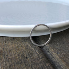 Load image into Gallery viewer, 1mm Minimalist Sterling Silver Ring