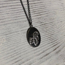 Load image into Gallery viewer, Silver Squirrel Pendant