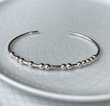 Load image into Gallery viewer, Sterling Silver CARPE DIEM Morse Code Bracelet