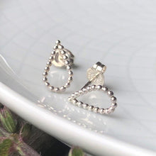 Load image into Gallery viewer, Sterling Silver Teardrop Post Earrings