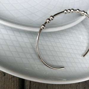 CUSTOM WORD Morse Code Bangle Bracelet