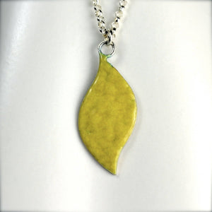 Lemon Leaf Necklace