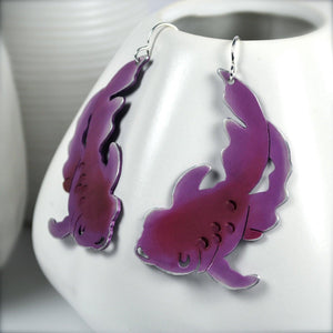 Japanese Koi Fish Earrings