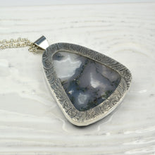 Load image into Gallery viewer, Moss Agate Stone Pendant