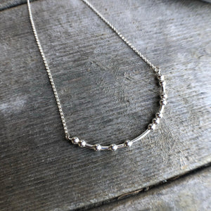 F-COVID Morse Code Necklace