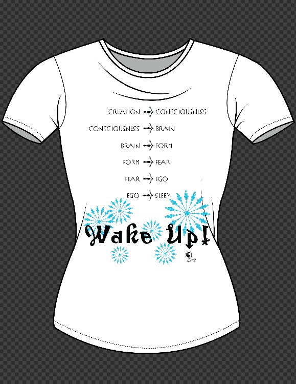 T-shirt - Angelic Moments - Wake Up