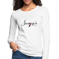 T-Shirt - Sacajawea, The Windcatcher Black Logo (Women's Long Sleeve)
