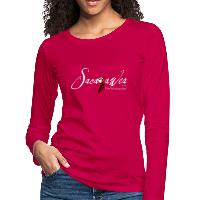 T-Shirt - Sacajawea, The Windcatcher White Logo (Women's Long Sleeve)