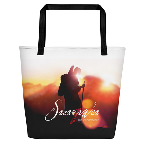 Sacajawea, The Windcatcher Beach Bag