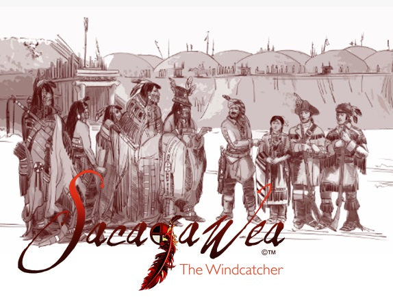 T-shirt - Concept Art - Sacajawea & the Captains