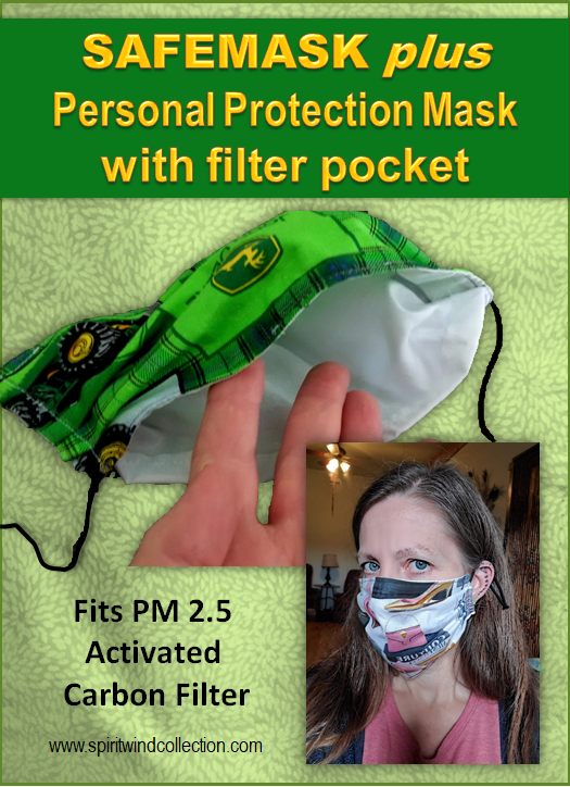 SAFEMASK Plus with Filter Pocket