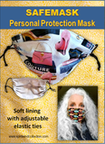 SAFEMASK Personal Protection Masks (no filter pocket)