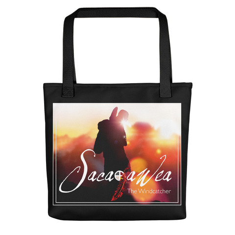 Sacajawea, The Windcatcher Tote Bag