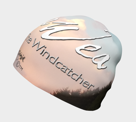 Hat - Beanie - Sacajawea, The Windcatcher Logo