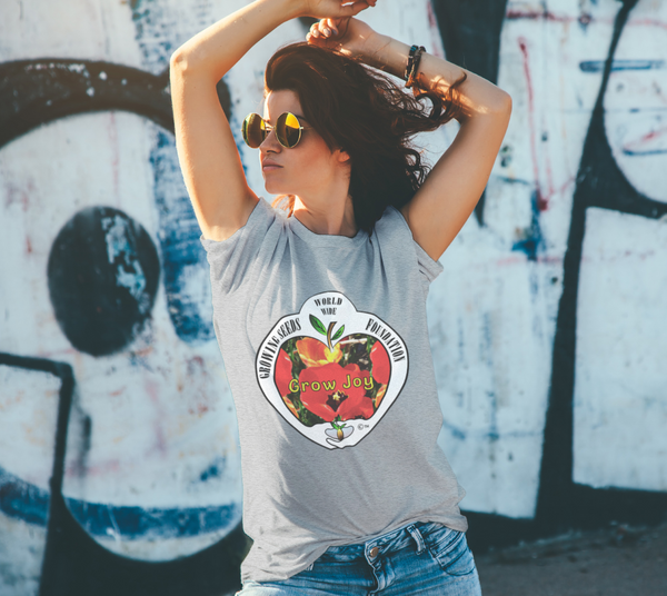 T-shirt - Growing Seeds Worldwide - Grow Joy