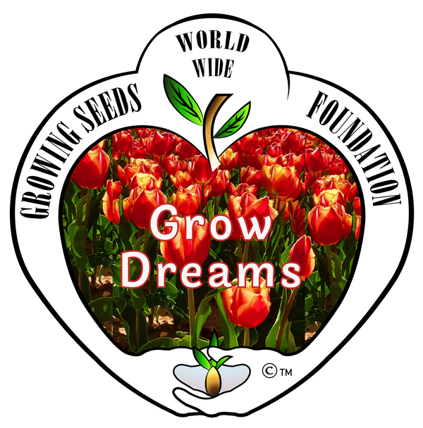 T-shirt - Growing Seeds Worldwide - Grow Dreams (Women's)