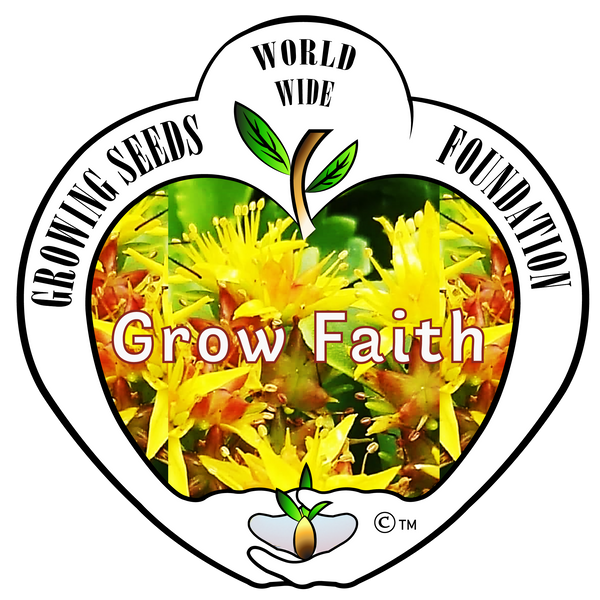 T-shirt - Growing Seeds Worldwide - Grow Faith (Unisex)