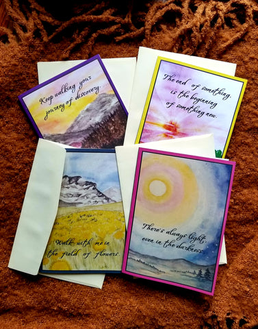 Inspirational Greeting Card Set
