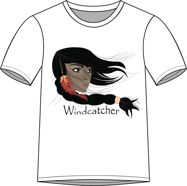 Youth T-shirt - The Grass Maiden, Sacajawea