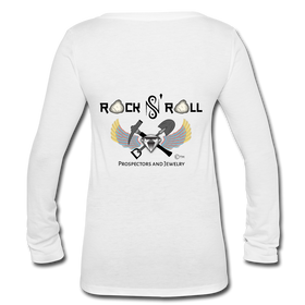 T-shirt - Rock N' Roll Prospectors & Jewelry Logo (Longsleeved Women's)