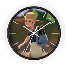 Load image into Gallery viewer, Danka and Po-Meow-Meow - Wall clock