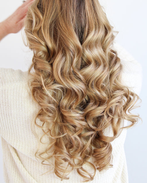 Heatless Curls with Cozy Curlers