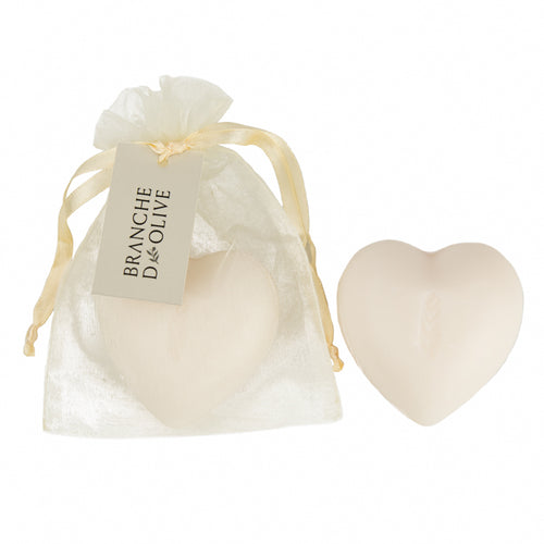 Muguet (Lily of the Valley) Mini Handmade Heart Shaped Soap
