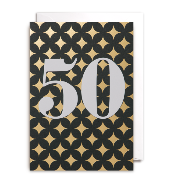 Fiftieth Birthday card