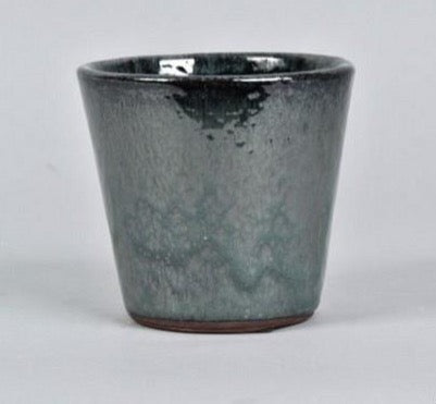 Alicante dark green pot