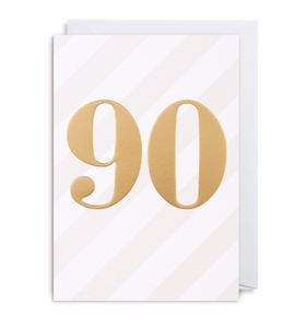 Ninetieth Birthday card