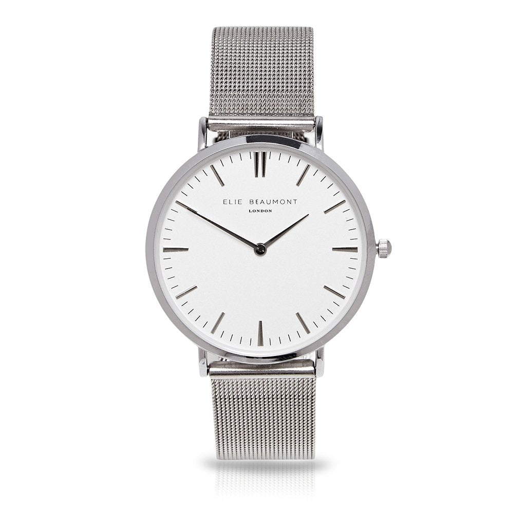 Classic watch with mesh strap Elie Beaumont